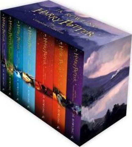 Harry Potter Boxed Set PB 2014
