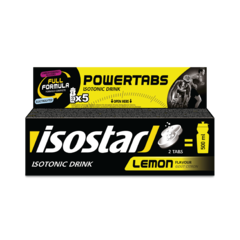 Изотоник Isostar в таблетках Powertabs лимон