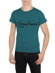 461493-34 футболка мужская, бирюзовая