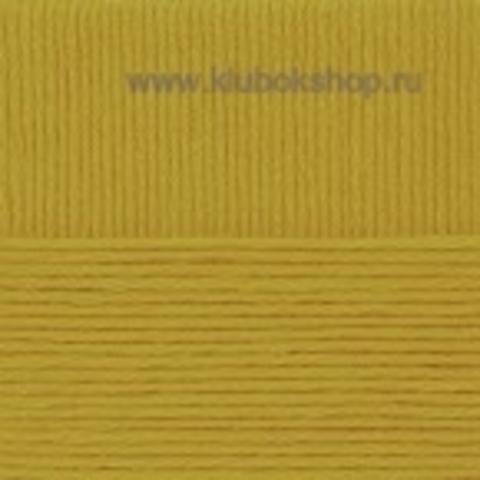 Пряжа Молодежная Пехорский текстиль Золотистая олива 33
