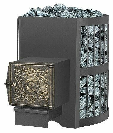 Печь банная Везувий Скиф 12 стандарт дверка ДТ - 3