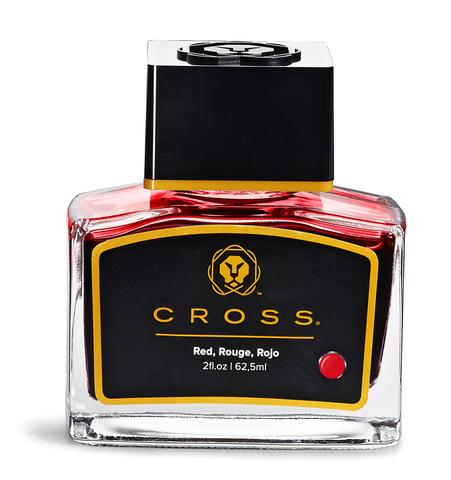 Cross Чернила (флакон), красный, 62,5 мл123