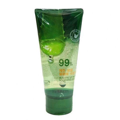 СМ Aloe Гель с алоэ универсальный увлажняющий (Not For Sale)Jeju Fresh Aloe Soothing Gel 99%_120ml 120мл