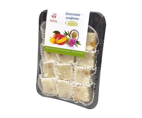 Кокосовые конфеты с манго, 150 г