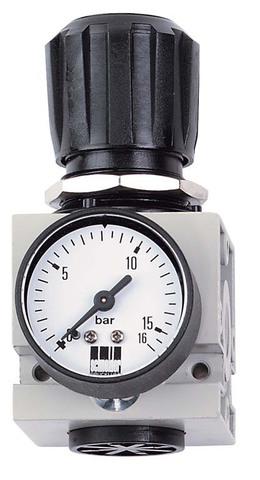 Регулятор давления с манометром DM 3/8 W