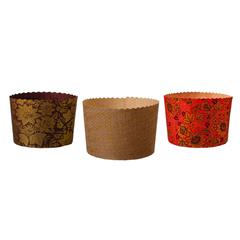 Набор бумажных форм для выпечки куличей «Пасхальный» 1 л 110х85 мм, 3 шт