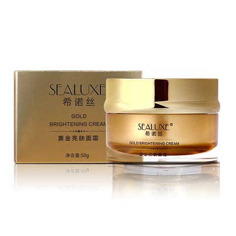 Золотой осветляющий крем Sealuxe 50 г