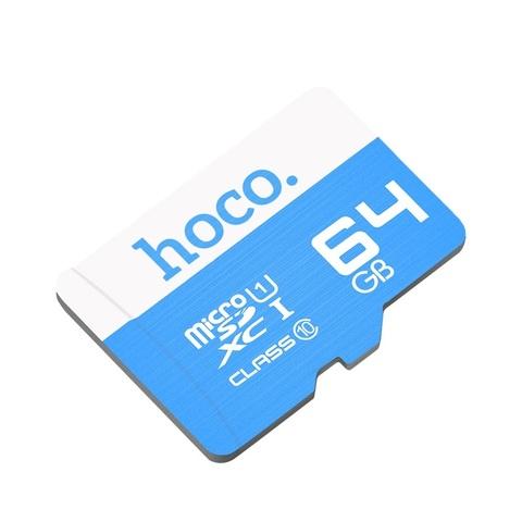 Карта памяти TF HOCO TF high speed 64GB Blue