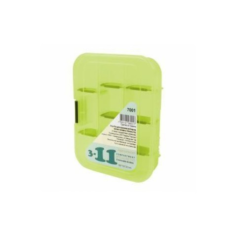 Коробка AQUATECH 7001 3-11 ячеек 1 застёжка