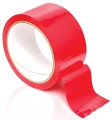 Лента-скотч бондажная Pleasure Tape красный