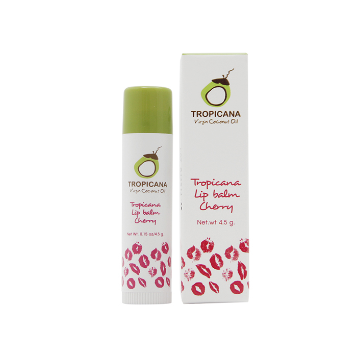 TROPICANA OIL Бальзам для губ «Cherry», TROPICANA OIL, 4.5г tropicana-lip-balm-cherry-4.5g.jpg