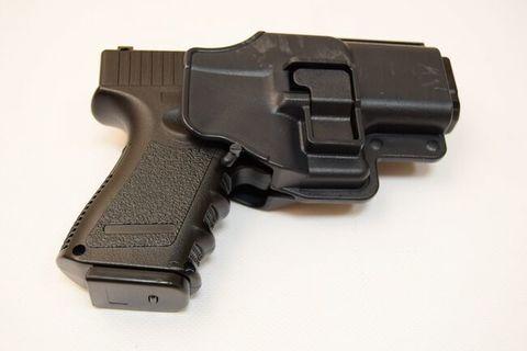 Страйкбольный пистолет Galaxy G.15+ Glock металлический, пружинный