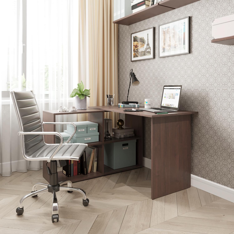 Угловой письменный стол ДОМУС СП016 венге