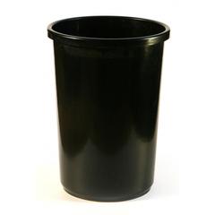 Корзина офисная 12л пластик, черная