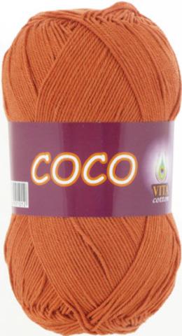 Пряжа Coco Vita cotton 4336 Терракот, фото