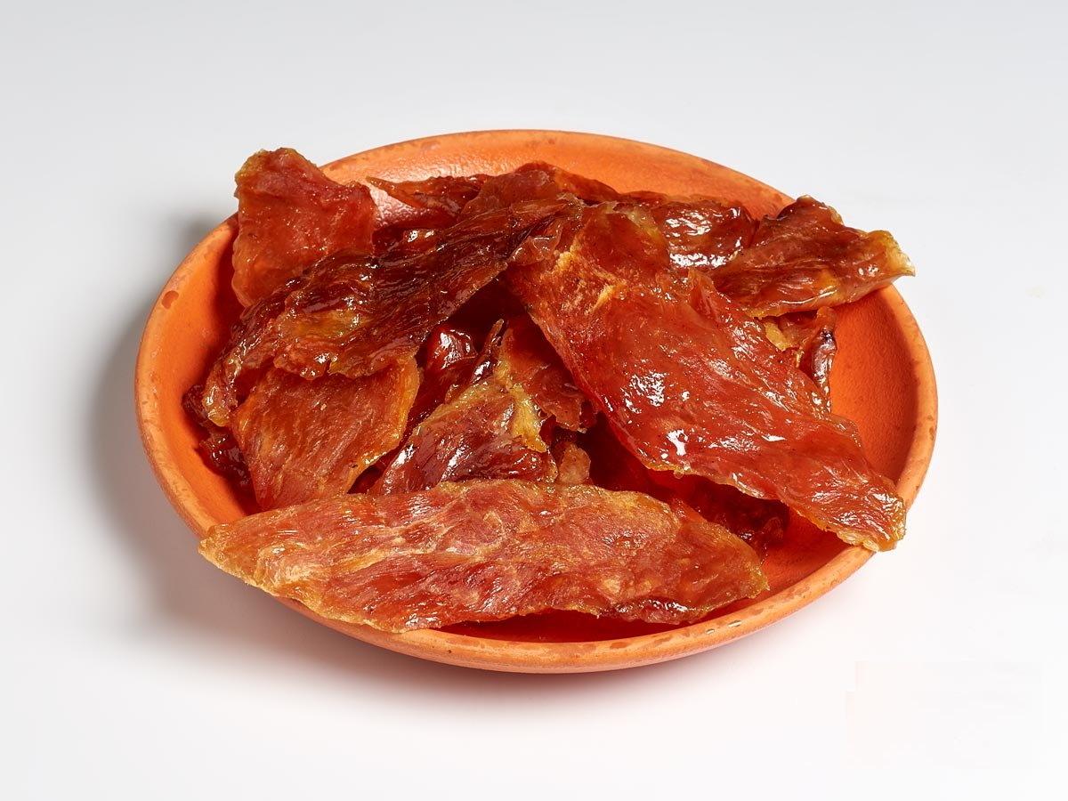 Ломтики вяленой свинины (100г)