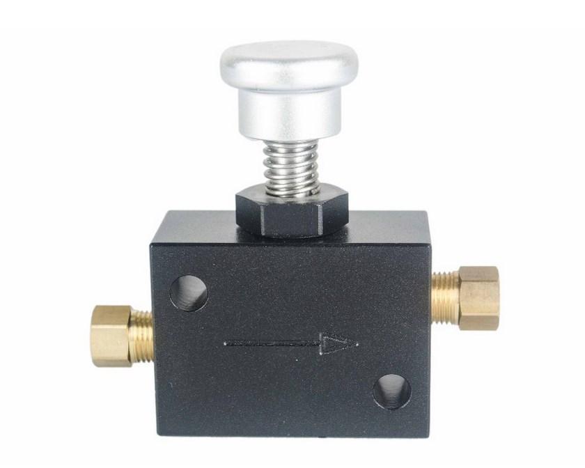 Механический line lock регулятор для прогрева резины или стояночного тормоза