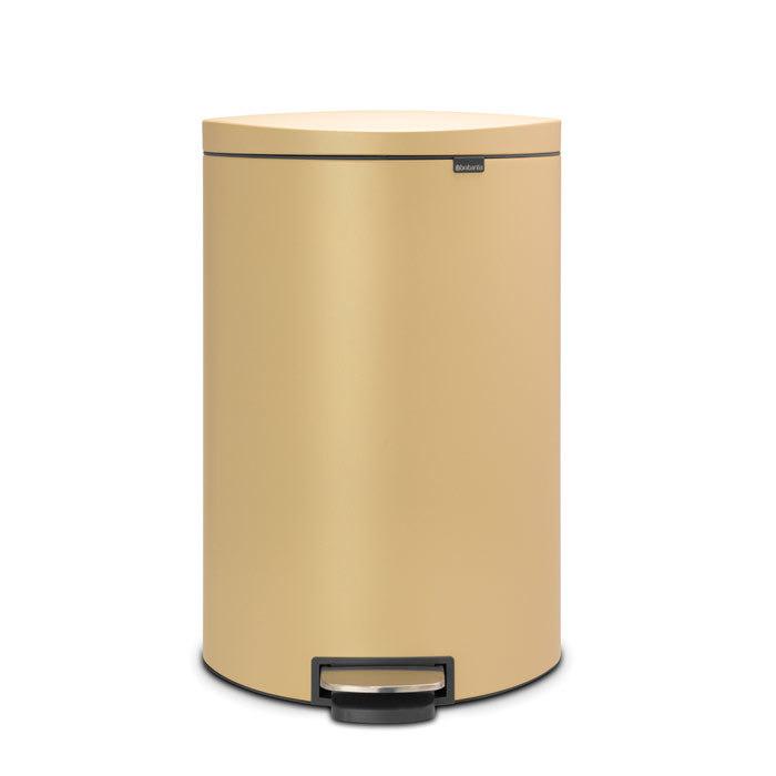 Мусорный бак FlatBack+ (40 л), Минерально-золотой, арт. 119644 - фото 1