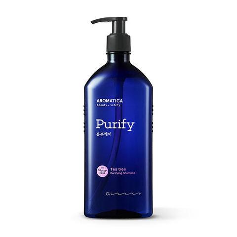 AROMATICA Tea Tree Purifying Shampoo Шампунь для жирных волос с чайным деревом