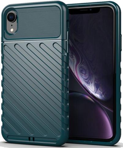 Чехол для iPhone XR цвет Green (зеленый), серия Onyx от Caseport