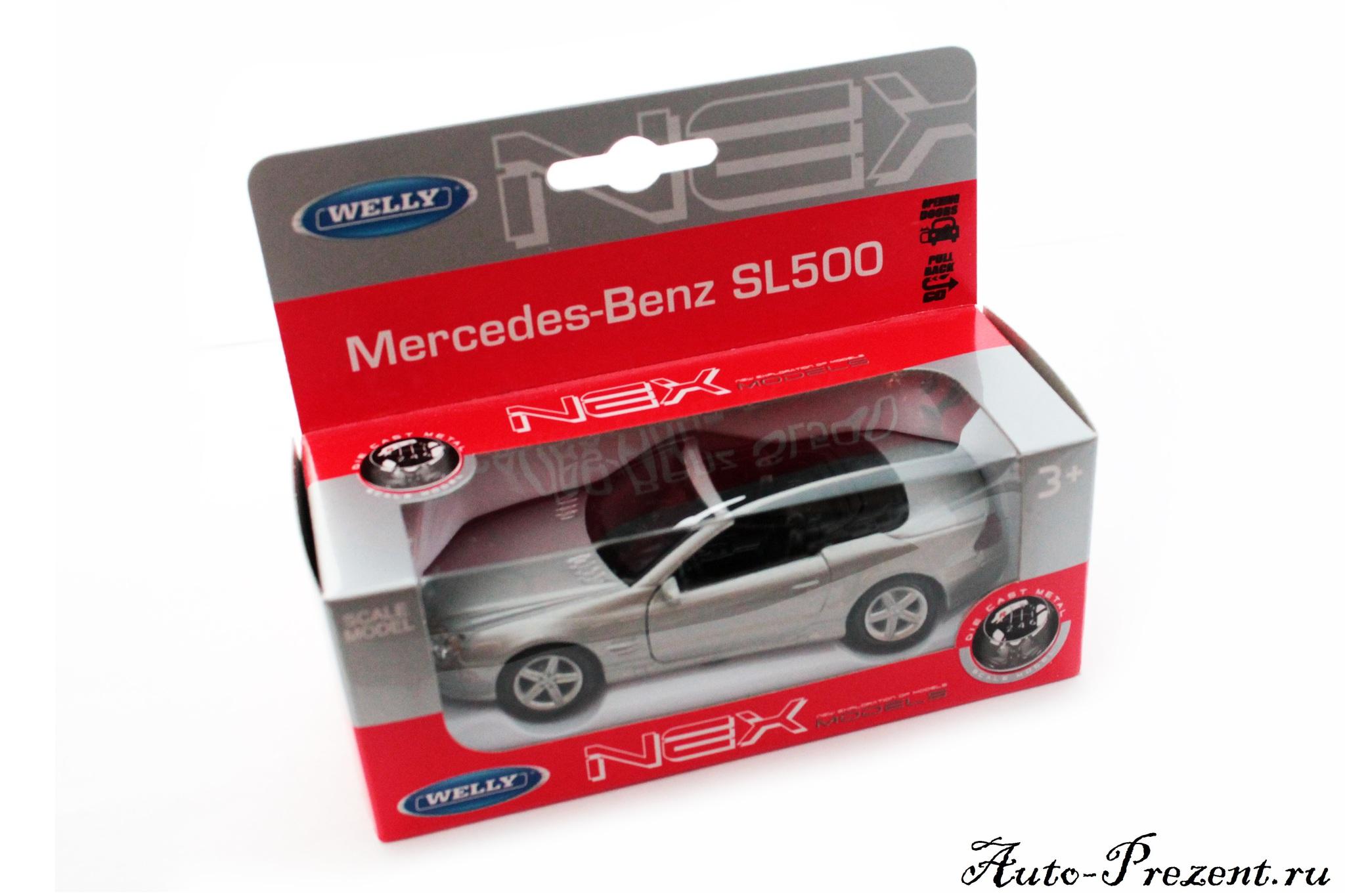 Машинка-игрушка Mercedes-Benz SL 500