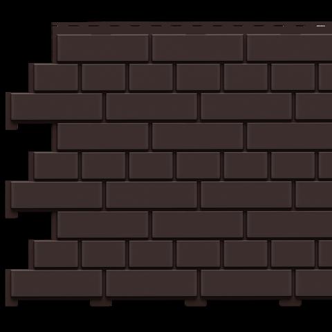 Фасадные панели (Цокольный Сайдинг) Доломит Кирпич Корица