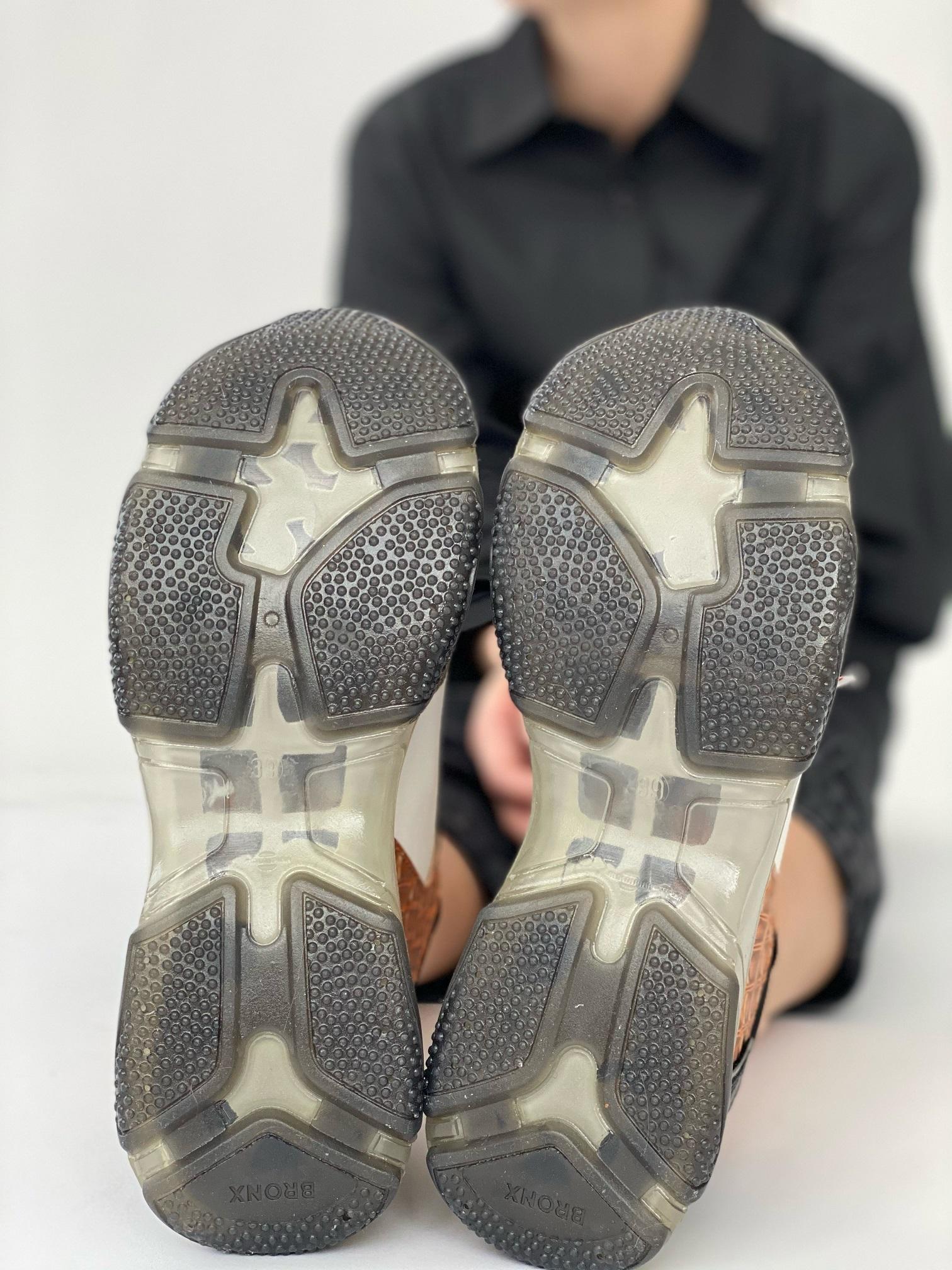 Кроссовки женские, BRONX, Baisley (серый)