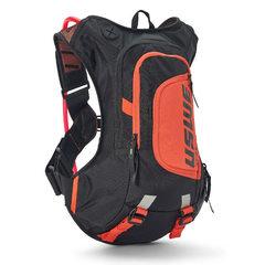 Рюкзак USWE RAW 12 черно-оранжевый  (гидропак)
