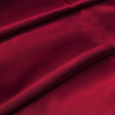 Шелк искусственный 100% полиэстер 220 см цвет красный