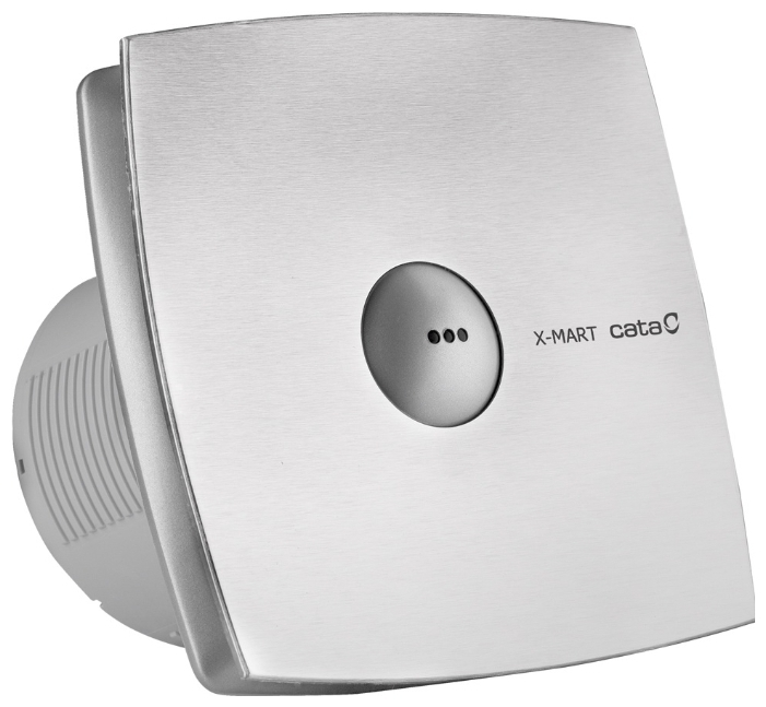 Cata X-Mart Matic Series Накладной вентилятор Cata X-Mart 12 matic inox Hygro 1868_cata-ventilyator-x-mart-15-matic-inox-s.jpg
