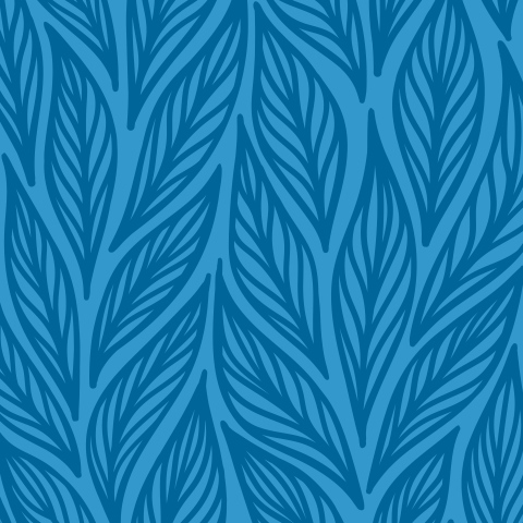 Синие листья с прожилками