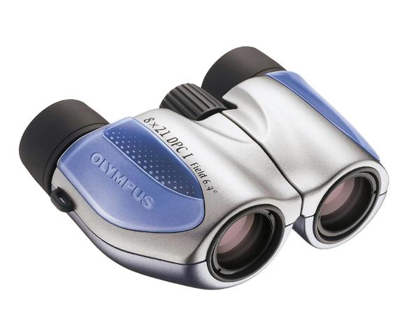 Бинокль Olympus 8x21 DPC I, синий