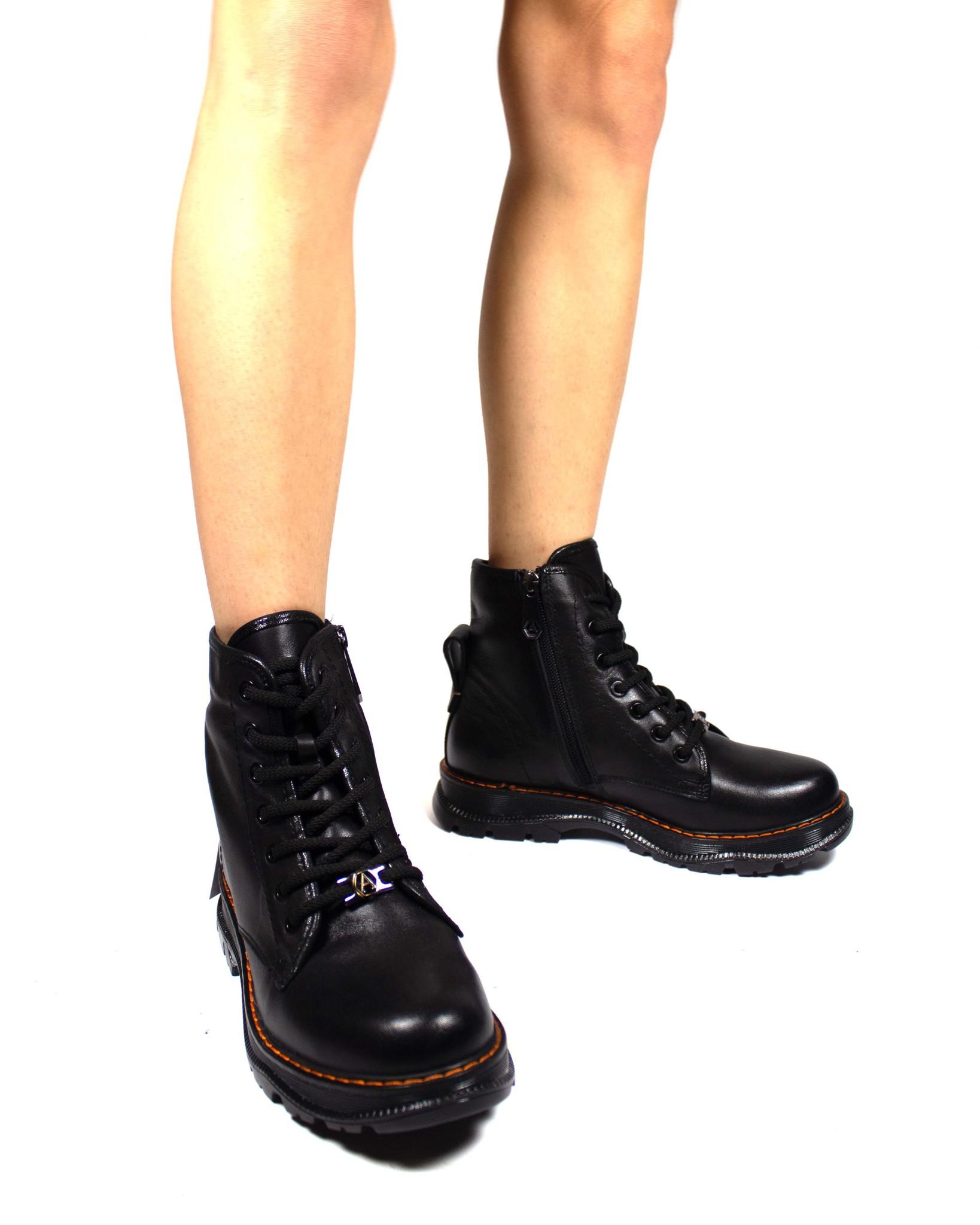 черные ботинки Alpino