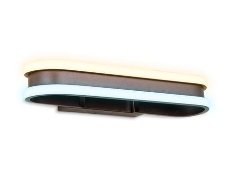 Настенный светодиодный светильник FL162 CF кофе LED 3000K/6400K 400*60*130