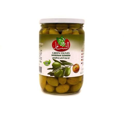 Оливки зеленые Rawiat Al Sham, 400 г
