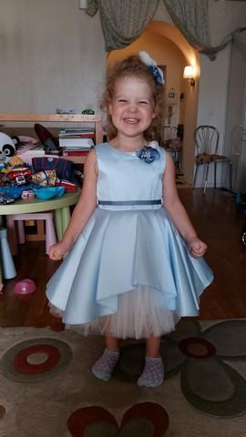 Голубое платье Beggi Ceremony (арт.8476)