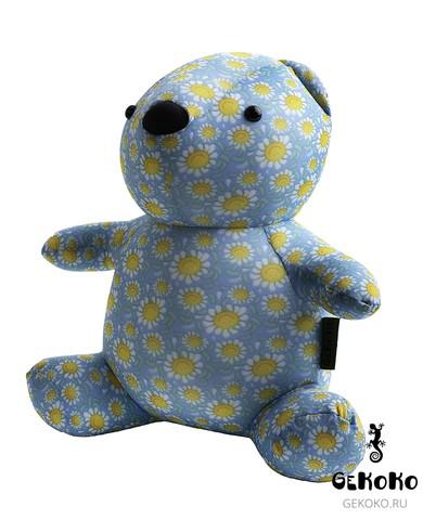 Подушка-игрушка антистресс Gekoko «МиниМишка Ромашковый» 3
