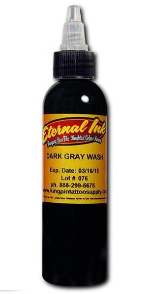 "Краска Eternal ""Gray Wash Dark"" для тату 1 унция - 30 мл"