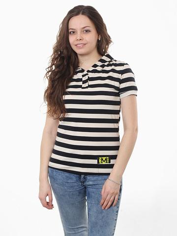 TL101-2 футболка женская, серо-синяя