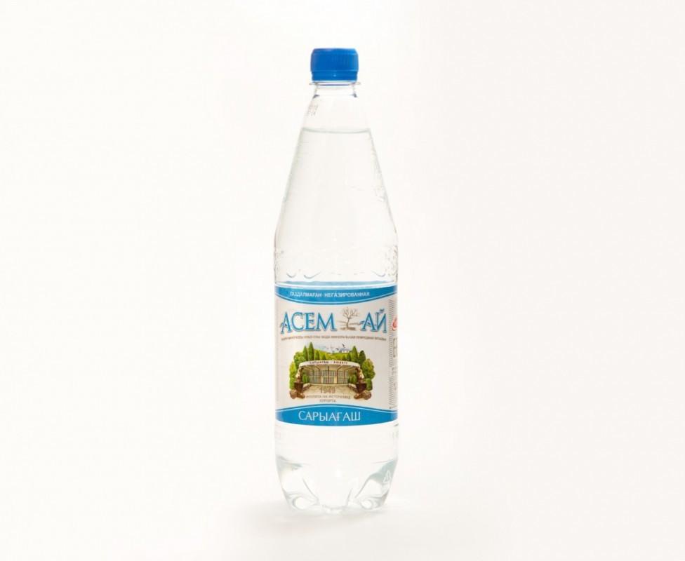 Мин.вода Асем-ай 1,5 л без газа
