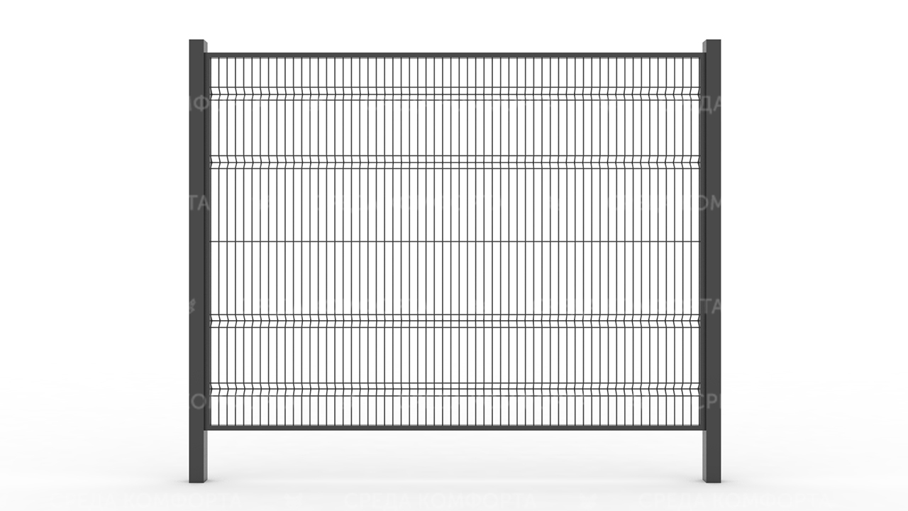 Забор 3Д ZBR0065