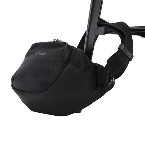 Картинка сумка поясная Pacsafe Venturesafe X Waistpack черный - 5