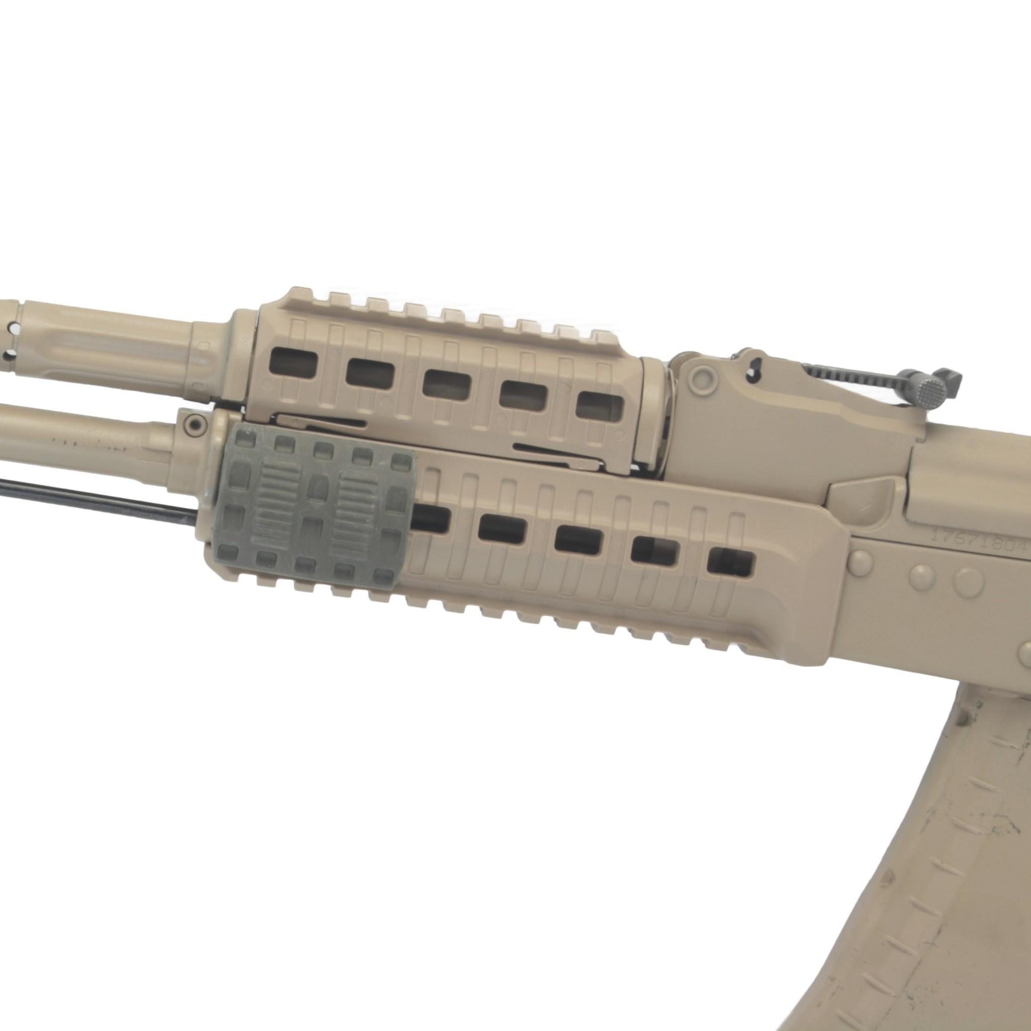 Накладка на планку Пикатинни 5 см, DLG Tactical - вид в сборе