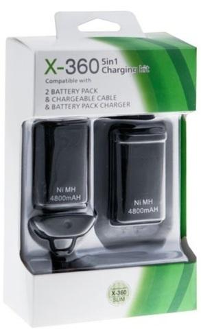 Зарядный комплект (5 в 1) (для контроллера Xbox 360)