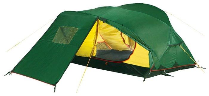 Палатка Alexika Freedom Plus 2, зеленая