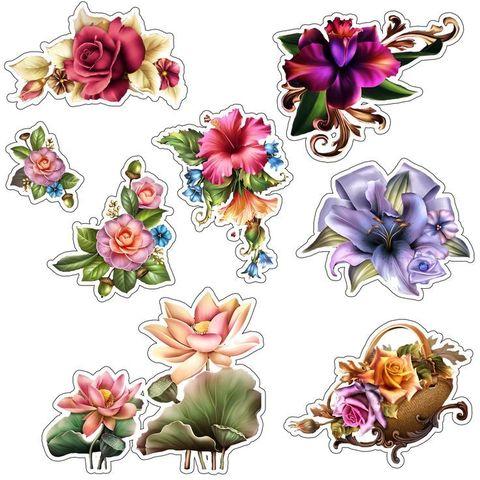 Печать на вафельной бумаге, Набор Цветы 14