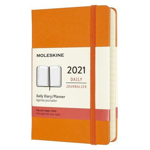 Ежедневник Moleskine Classic Pocket 90x140мм 400стр. оранжевый