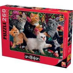 Puzzle Oyuncu Kediler. Kittens at Play 260 pcs
