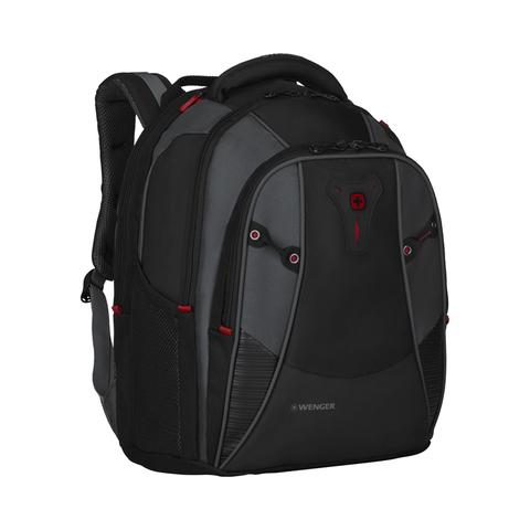 Городской рюкзак чёрный 27 л WENGER Mythos 600632