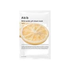 Тканевая Маска  Abib Mild Acidic Ph Sheet Mask Yuja Fit 10ea
